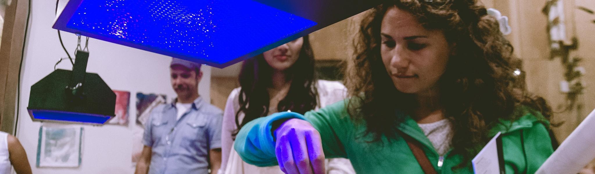 How to Print Inkodye with UV Light